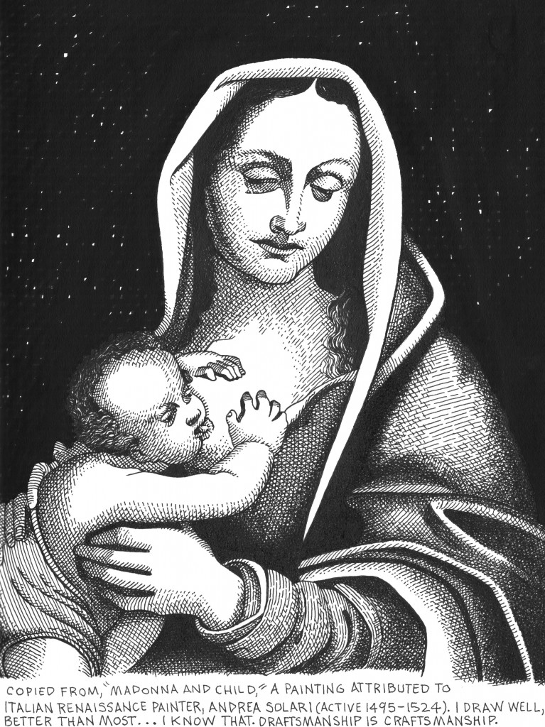 Madonna and Child (From Solari) - April, 2014